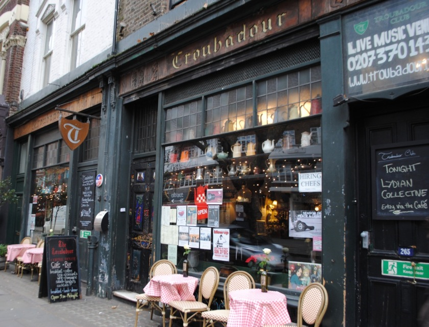 Troubadour London